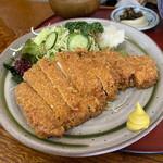 レストラン熊さん - Bとんかつ定食(ロース)