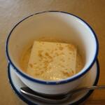天厨菜館 - 胡麻の杏仁豆腐