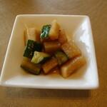天厨菜館 - 漬け物