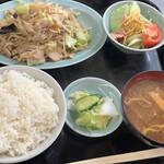 ラーメン北海 - 料理写真:肉野菜炒定食¥850