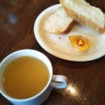 トニーローマ - ランチスープ&パン