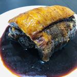 スミヤ精肉店 - 焼豚(脂身多め)