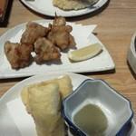 鮨の味通 - 新メニュー♪海老チーズの春巻き揚げ