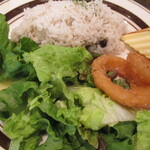 147163416 - カレーにはジャマイカの豆ごはん