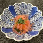 うらわのうなぎ 萬店 - 前菜の小鉢