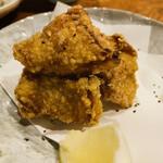 かるいち - 五品目       「軍鶏肉の唐揚げ」