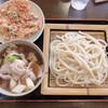 藤店うどん - 料理写真:肉汁うどん 並 750円 かき揚げ1枚120円