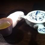 14717419 - ほうじ茶は温かい。