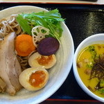 14717439 - 秋のベジポタつけ麺 850円