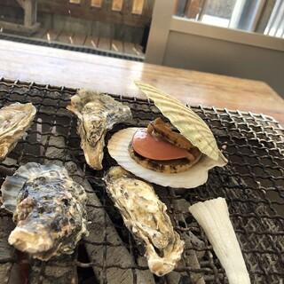 牡蠣ハウス マルハチ - 料理写真: