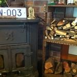 きり山 - 暖炉があります