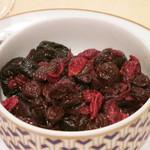 トゥ・ラ・ジョア - ドライフルーツの赤ワイン煮 (2012/09)