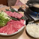 牛タンと野菜巻き串 おくお -