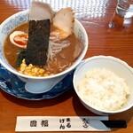 のみ、くい 圓福 - 料理写真:味噌ラーメン(700円也) 冬季にはじめたのかな?