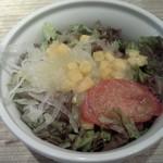 エノテカ・ドォーロ - ランチセットのサラダ