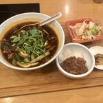Taiwantami - ランチメニュー「台湾名物 牛肉麺」(1000円)