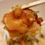 なるとキッチン - 小樽ザンギ丼・2個(702円)