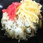 うまやす食堂 白水之蔵 - 料理写真:高菜飯