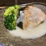 Shokusaian - この日はサーモンのクリーム煮