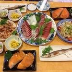 幡多郷 - 料理写真:お魚祭ですけん!