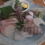 岡山料理専門店~cooking of art Ikiya~ - 刺身盛り
