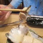 富梅 - 2012,9.8  牡蠣アップ