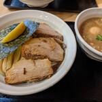 つけめん 蕾 - 特製濃厚煮干つけ麺   (大盛)    ¥1180