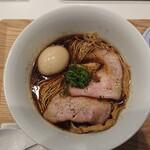 IKR51 - 牡蠣干し黒醤油らぁ麺