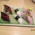 富梅 - 2012.9.8  鰻・えんがわ・鯵