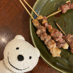 もつ肉ハッピー - カシラ Cheek Skewers at Motsuniku Happy, Yokosuka Chuo!♪☆(*^o^*)