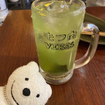 もつ肉ハッピー - コウバシ茶割り Shochu and Gorgeous Green Tea at Motsuniku Happy, Yokosuka Chuo!♪☆(*^o^*)