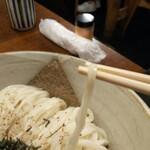 Nishiya - 冷たい麺なら細麺での提供です