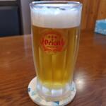 海の幸 - オリオン生ビール(^_^)/□