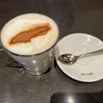 air cafe centralgarden  - ほうじ茶ラテ(税込 800円)評価=△