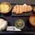 銘柄とんかつ 梟 - 料理写真:栃木県産銘柄 霧降高原豚 特ロース180g