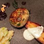 ラ・ロシェル - 肉料理(ハンバーグっぽい)