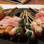 ひさご - 串焼きか天ぷらか・・・迷っちゃいますね♪♪