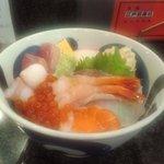 みなと寿司 - 海鮮丼(2012.8)