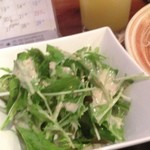 DON - サラダ(味噌カツセット)