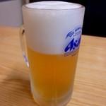 欣隆 - 生ビール(600円)