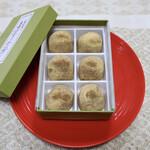 喜仙堂 - 料理写真:わらび餅(6個入り 税込1,490円)