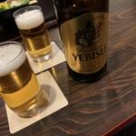 147245305 - エビス瓶ビール