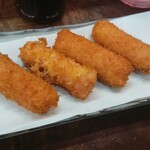 豊田屋 - 魚肉ソーセージフライ
