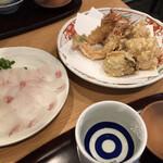 天ぷら 日本料理 あら川 -