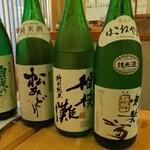 小田原おでん 本陣 - 日本酒