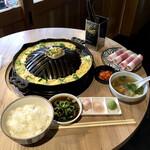 ブリスケ ロニー - チャドルバギ定食 ¥1500