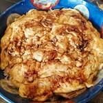 147258279 - 焼豚玉子飯のセットメニューBセット(焼豚玉子飯両面焼き大盛)