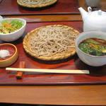 蕎麦 紫翠 - 豚せいろセット