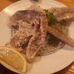 旬魚彩菜 和さ美 - 骨せんべい(鰹)