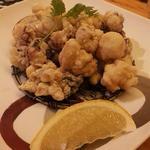 旬魚彩菜 和さ美 - タコの唐揚げ
